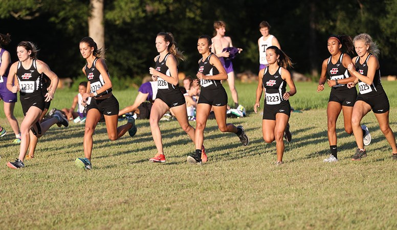 HSU Cross Country Places Third at Lois Davis Invitational