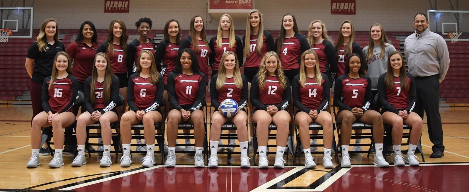 2018 Women S Volleyball Roster Henderson State University Athletics
